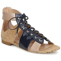 Zapatos Mujer Sandalias John Galliano AN6379 Azul / Beige / Rosa