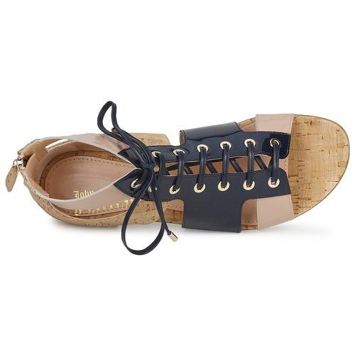 AzulBeige Sandalias Rosa An6379 Zapatos John Galliano Mujer 2W9eEDYbIH