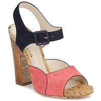 Zapatos Mujer Sandalias John Galliano AN3571 Rosa / Marino