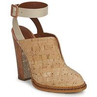 Zapatos Mujer Zuecos (Clogs) John Galliano AN9211 Beige