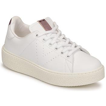 Zapatos Niños Zapatillas bajas Victoria TRIBU Blanco