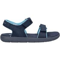 Zapatos Niños Sandalias Timberland A43GH NUBBLE Azul
