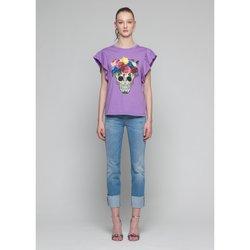 textil Mujer Camisetas sin mangas Kocca T-Shirt BRUK Violeta