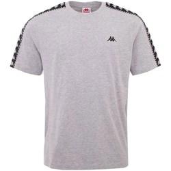 textil Hombre Camisetas manga corta Kappa Ilyas Grises