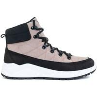 Zapatos Mujer Zapatillas altas 4F OBDH252 Negros, Rosa