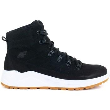 Zapatos Mujer Zapatillas altas 4F OBDH252 Blanco, Negros