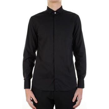 textil Hombre Camisas manga larga Manuel Ritz 3030E652-213229 Negro