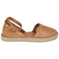 Zapatos Mujer Alpargatas Top3 ALPARGATA YUTE CON INCRUSTACIONES PIRAMIDES Multicolor