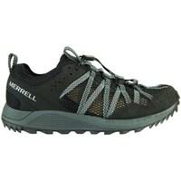 Zapatos Mujer Zapatillas bajas Merrell Wildwood Aerosport Negros, Grises