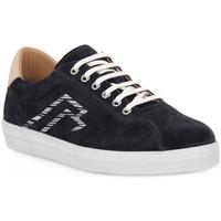 Zapatos Hombre Zapatillas bajas Frau AMALFI BLU LATTE Blu