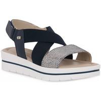 Zapatos Mujer Sandalias Valleverde BLU SANDALO Blu