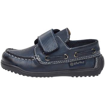 Zapatos Niños Derbie Naturino 2013091 01 Azul