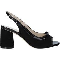 Zapatos Mujer Sandalias Melluso HS548 Negro