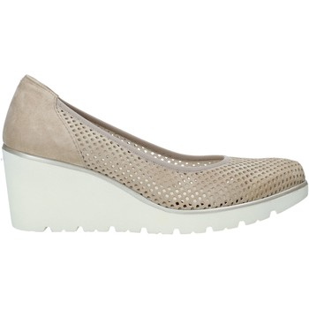 Zapatos Mujer Slip on Melluso R2510X Beige