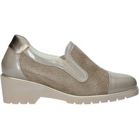 Zapatos Mujer Slip on Melluso R30721 Beige