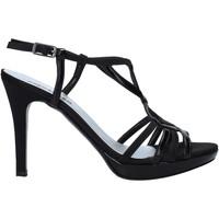 Zapatos Mujer Sandalias Melluso HJ428 Negro