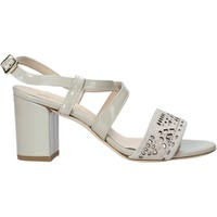 Zapatos Mujer Sandalias Melluso HS505 Beige