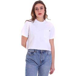 textil Mujer Camisetas manga corta Dickies DK0A4XDEWHX1 Blanco