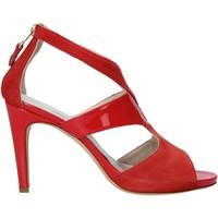 Zapatos Mujer Sandalias Melluso HS852 Rojo
