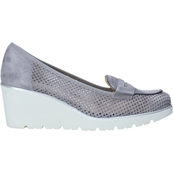 Zapatos Mujer Slip on Melluso HR20509 Gris