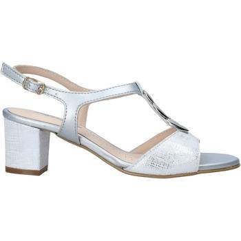 Zapatos Mujer Sandalias Melluso K95350 Plata