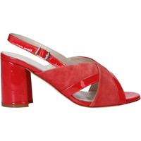Zapatos Mujer Sandalias Melluso HS530 Rojo