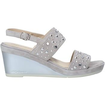 Zapatos Mujer Sandalias Melluso HR70531 Gris