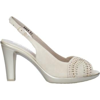 Zapatos Mujer Sandalias Melluso HR50117 Beige