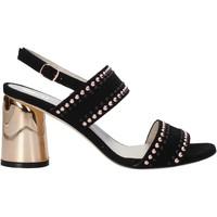 Zapatos Mujer Sandalias Melluso HS553 Negro