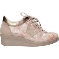 Zapatos Mujer Deportivas Moda Melluso HR20128 Beige