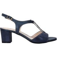 Zapatos Mujer Sandalias Melluso HK95360 Azul