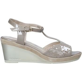 Zapatos Mujer Sandalias Melluso HR70520 Beige