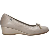 Zapatos Mujer Bailarinas-manoletinas Melluso H08123 Beige