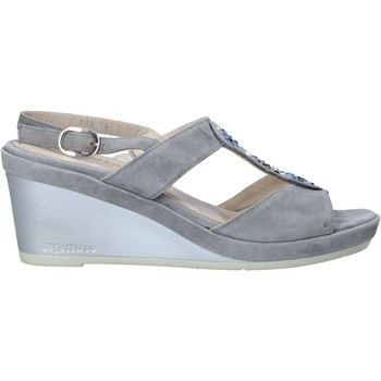 Zapatos Mujer Sandalias Melluso HR70513 Gris