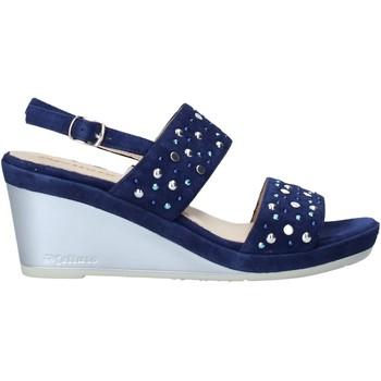 Zapatos Mujer Sandalias Melluso HR70531 Azul
