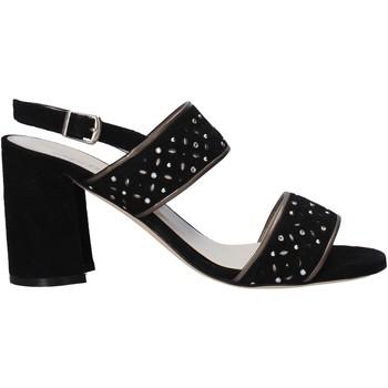 Zapatos Mujer Sandalias Melluso HS533 Negro