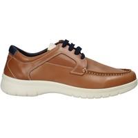 Zapatos Hombre Deportivas Moda Melluso XU17128 Marrón
