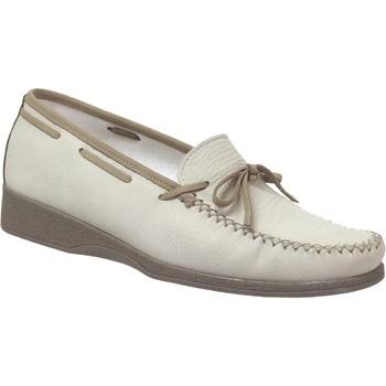 Zapatos Mujer Mocasín Marco NICE NUBUCK Nobuck Beige