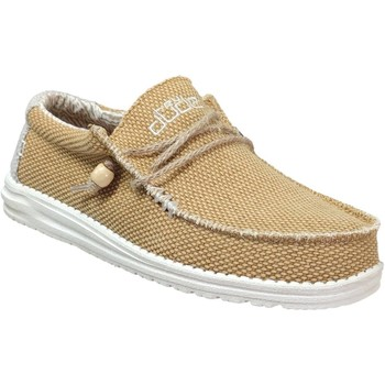 Zapatos Hombre Mocasín Dude Wally braided amarillo