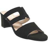 Zapatos Mujer Zuecos (Mules) Folies 1210 Terciopelo negro