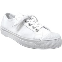 Zapatos Mujer Zapatillas bajas Bensimon Romy b79 Lienzo blanco