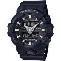 Relojes & Joyas Hombre Relojes analógicos Casio GA-700-1BER, Quartz, 53mm, 20ATM Negro