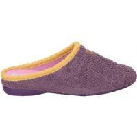 Zapatos Mujer Pantuflas Cosdam Z. DE CASA  511 SEÑORA BERENJENA Violet