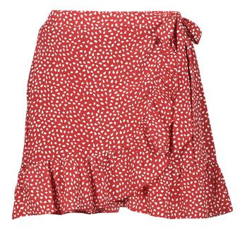 textil Mujer Faldas Betty London OLINDA Rojo / Blanco