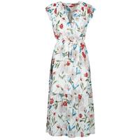 textil Mujer Vestidos largos Moony Mood  Blanco / Multicolor