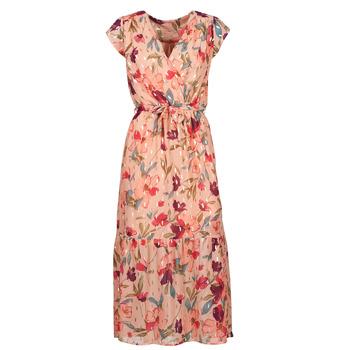 textil Mujer Vestidos largos Moony Mood  Rosa / Multicolor