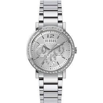 Relojes & Joyas Mujer Relojes analógicos Versus by Versace VSPOR2519, Quartz, 38mm, 5ATM Plata