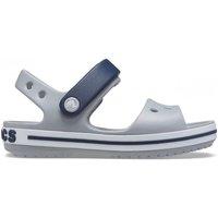 Zapatos Niños Sandalias Crocs CR.12856-LGNA Light grey/navy