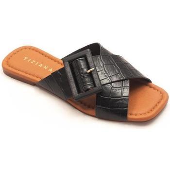 Zapatos Mujer Zuecos (Mules) Tiziana 1036 Negro