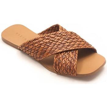 Zapatos Mujer Zuecos (Mules) Tiziana 1026 Beige